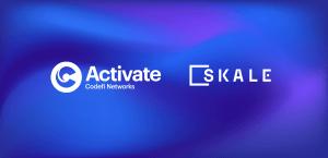 【定時報】彈性區塊鏈網絡 SKALE 的代幣將在 8 月 17 日通過 Activate 平臺進行荷蘭式拍賣
