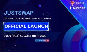 【定時報】JustSwap 已上線測試網;以太坊社區正討論將區塊獎勵從 2 ETH 減少爲 0.5 ETH 的方案