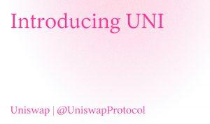 關於 UNI,你需要知道的都在這裡
