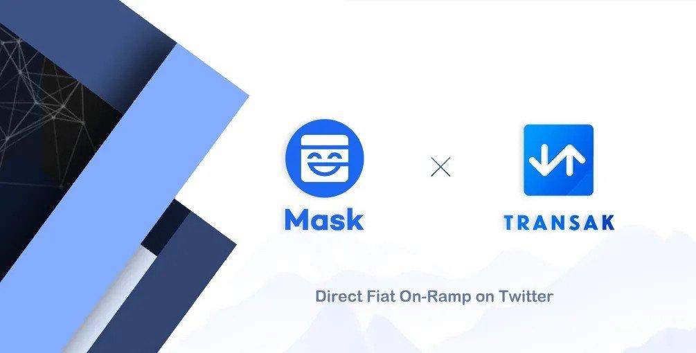 Mask Network 引入法幣聚合器Transak,共同推動更完善的開放金融體系