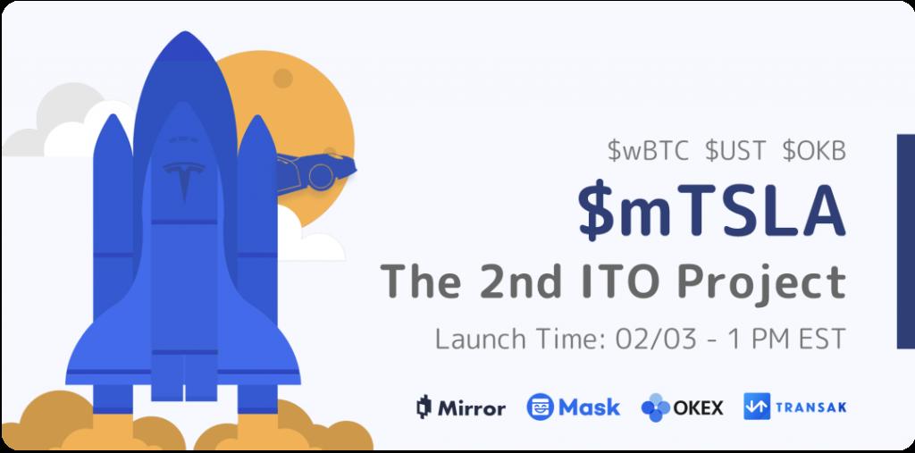 Mask Network 第二期 ITO 公佈, $mTSLA 開啟美股新玩法