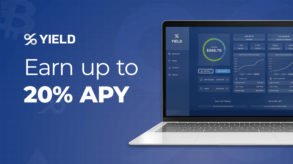 DeFi 銀行 YIELD App 推出「一鍵式投資」,助普羅大眾打開 DeFi 大門