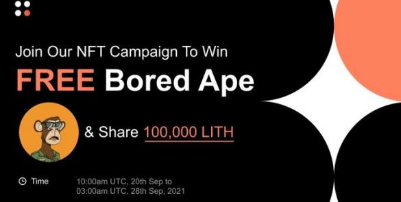 Bored Ape × Lithium Finance NFT 價值競猜活動